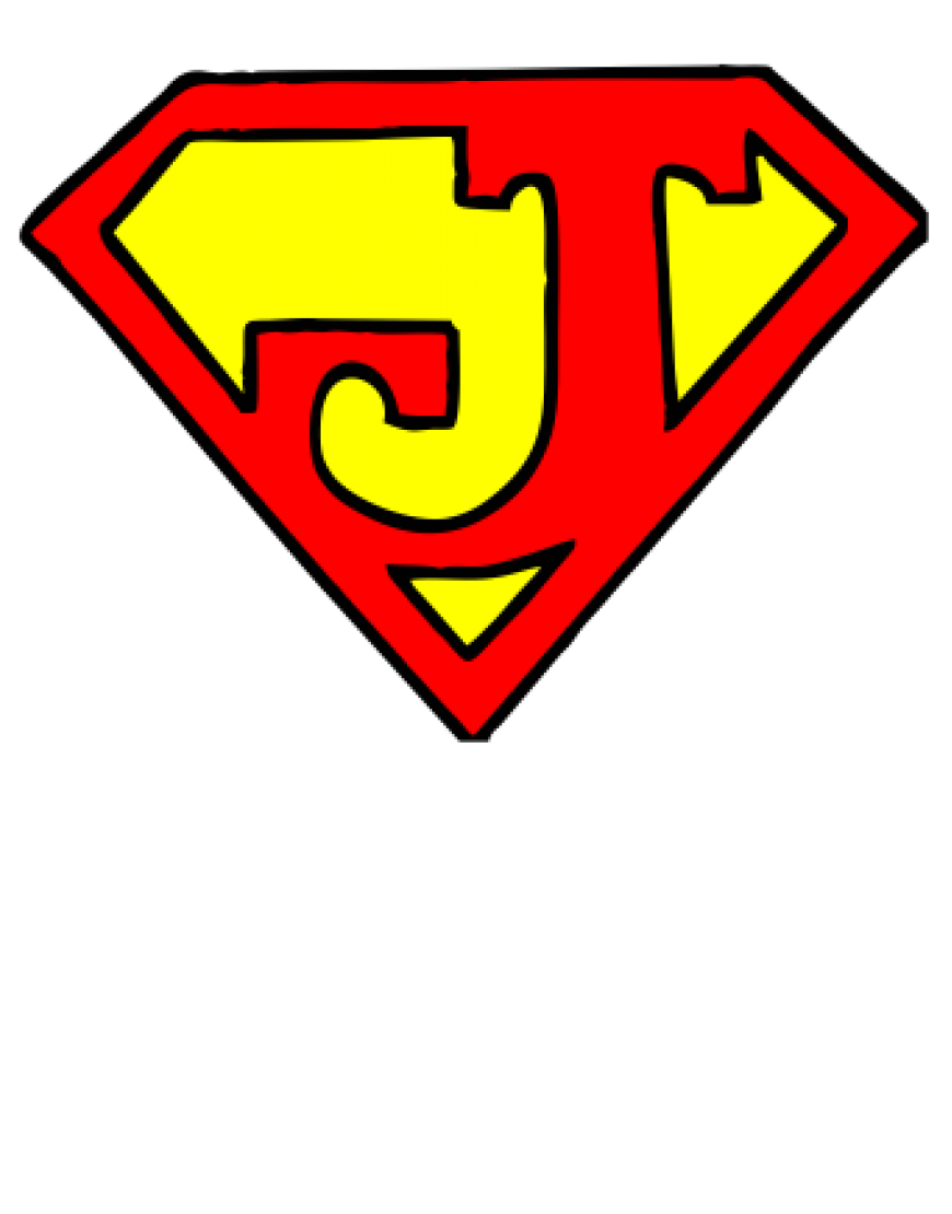 Superman Logo With Different Letters T Shirt - ClipArt ...