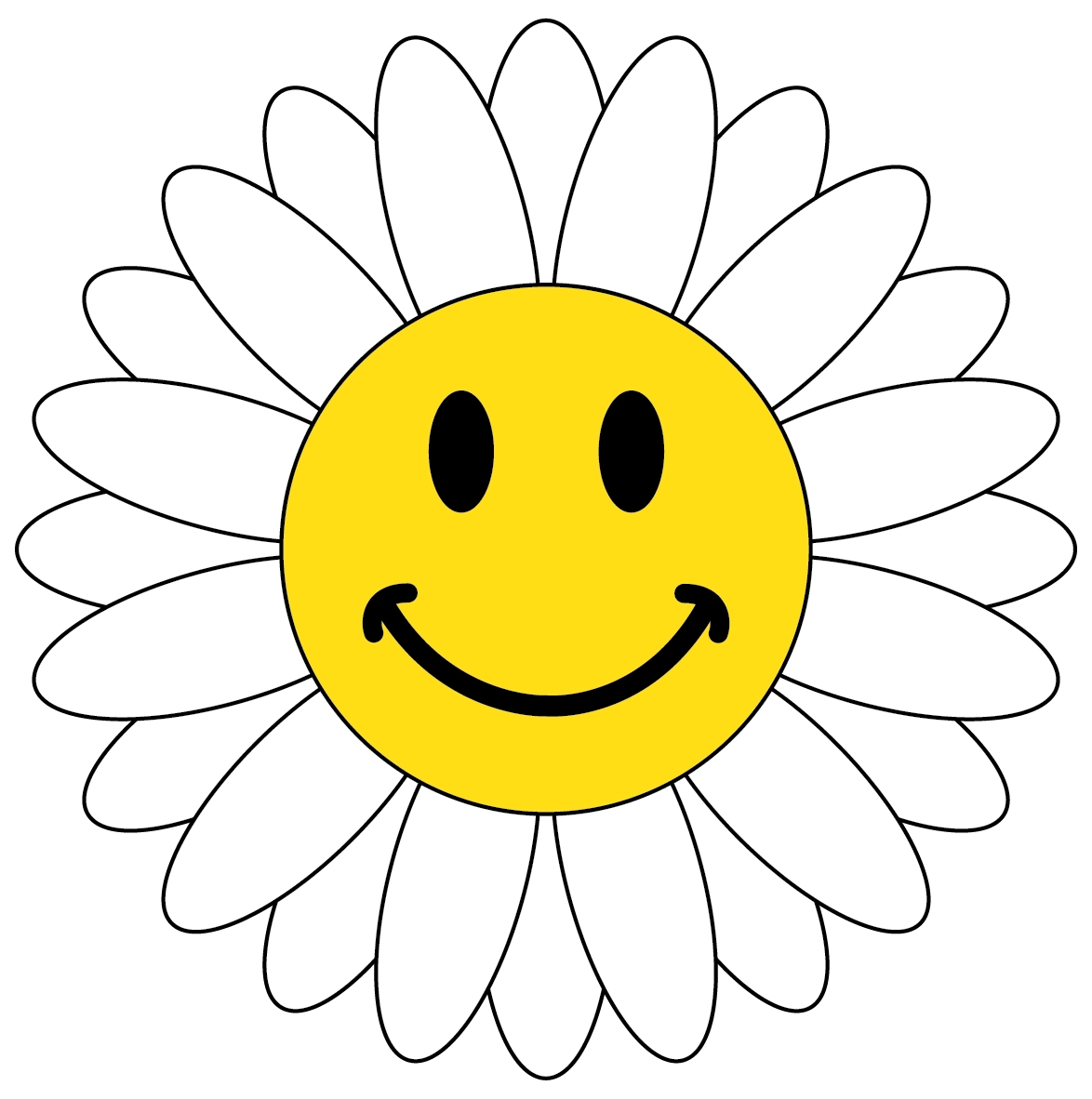 Happy Face Thank You Clipart