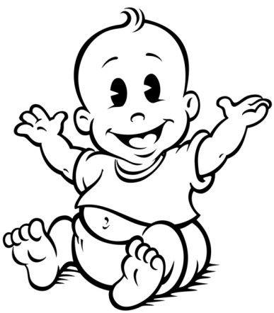 Newborn Baby Drawings - ClipArt Best