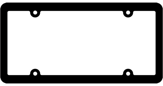 blank license plate template. Black Bedroom Furniture Sets. Home Design Ideas