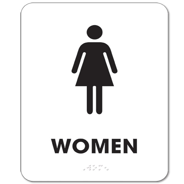 Impeccable image within women's restroom sign printable
