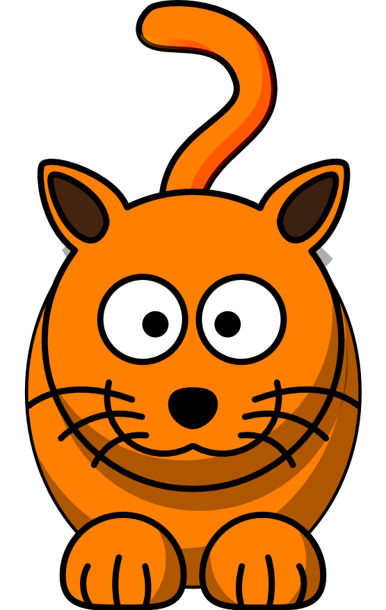 ... orange cat insert tiger google social ... - ClipArt Best - ClipArt