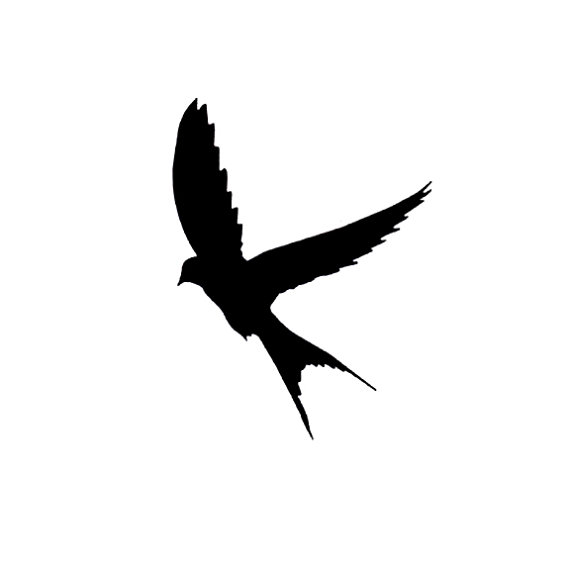 Aninimal Book: Sparrow Silhouette Tattoo - ClipArt Best