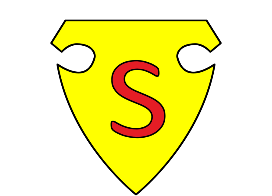 1938 Superman Logo