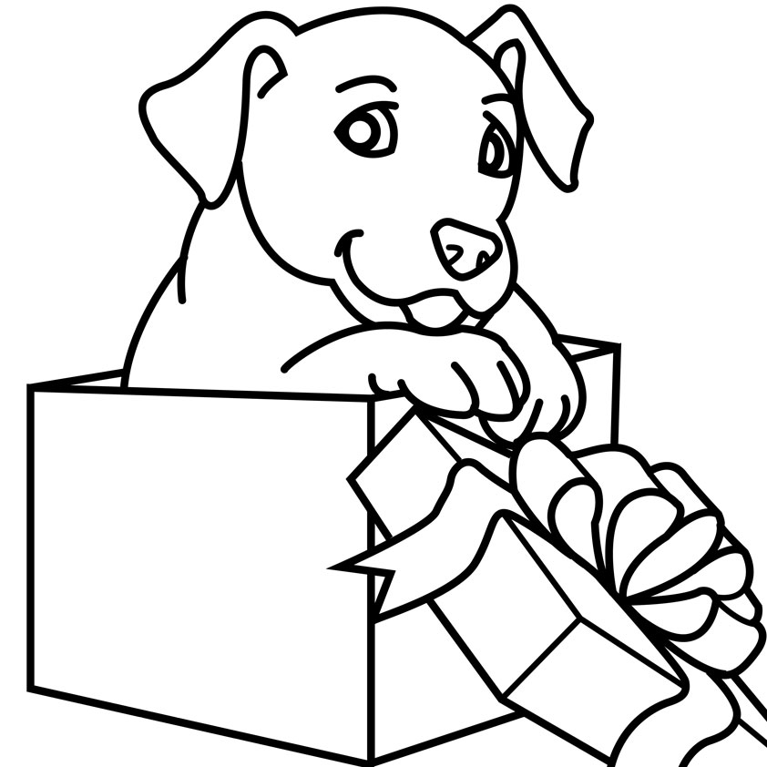 lab puppies coloring pages - photo#20