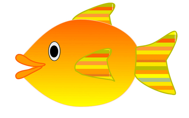 Orange Fish Clip Art – Clipart Free Download