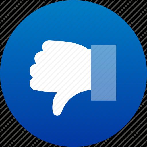 dislike icon clipart best