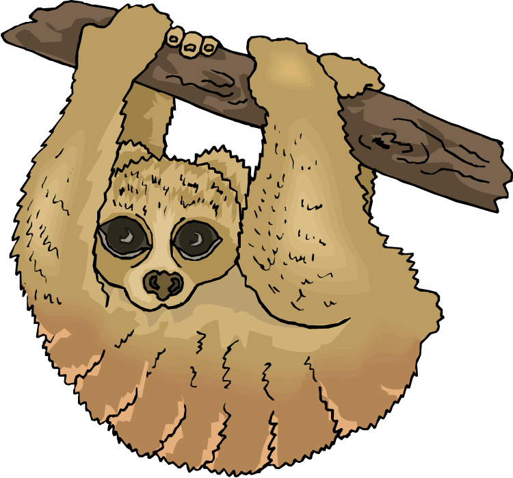 Sloth Clipart - ClipArt Best