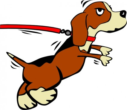 Free Dog Walking Clipart - ClipArt Best