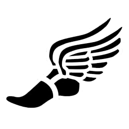 running shoes with wings clipart best