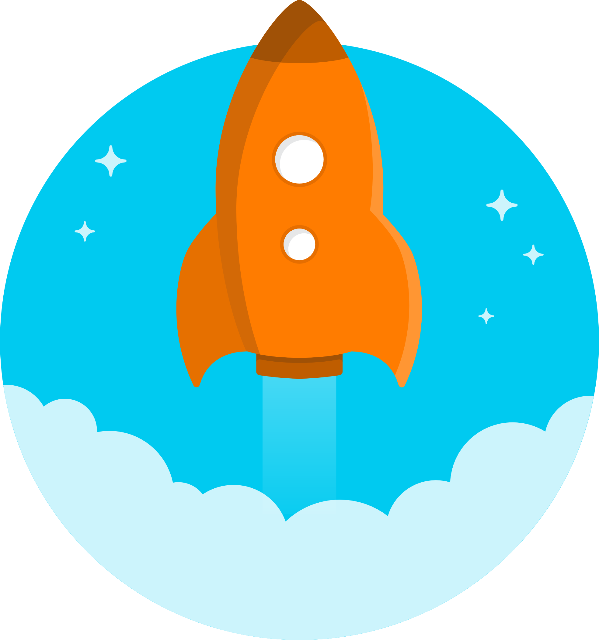Free cartoon rocket ship clip art free clipart