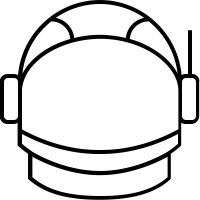 astronaut helmet clip art - photo #24