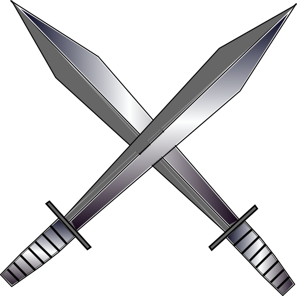 Cartoon Medieval Sword - ClipArt - 94.2KB