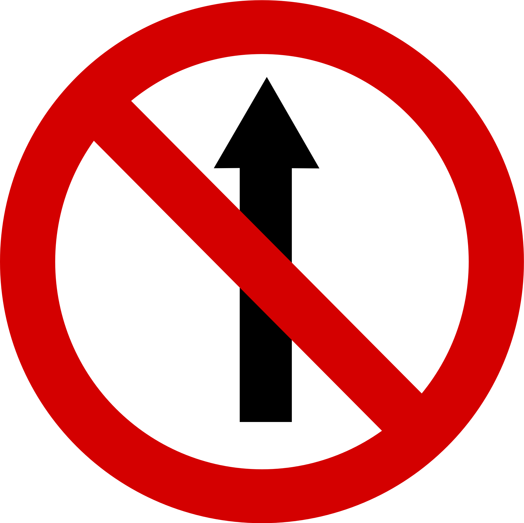 no entry roadsign clipart best