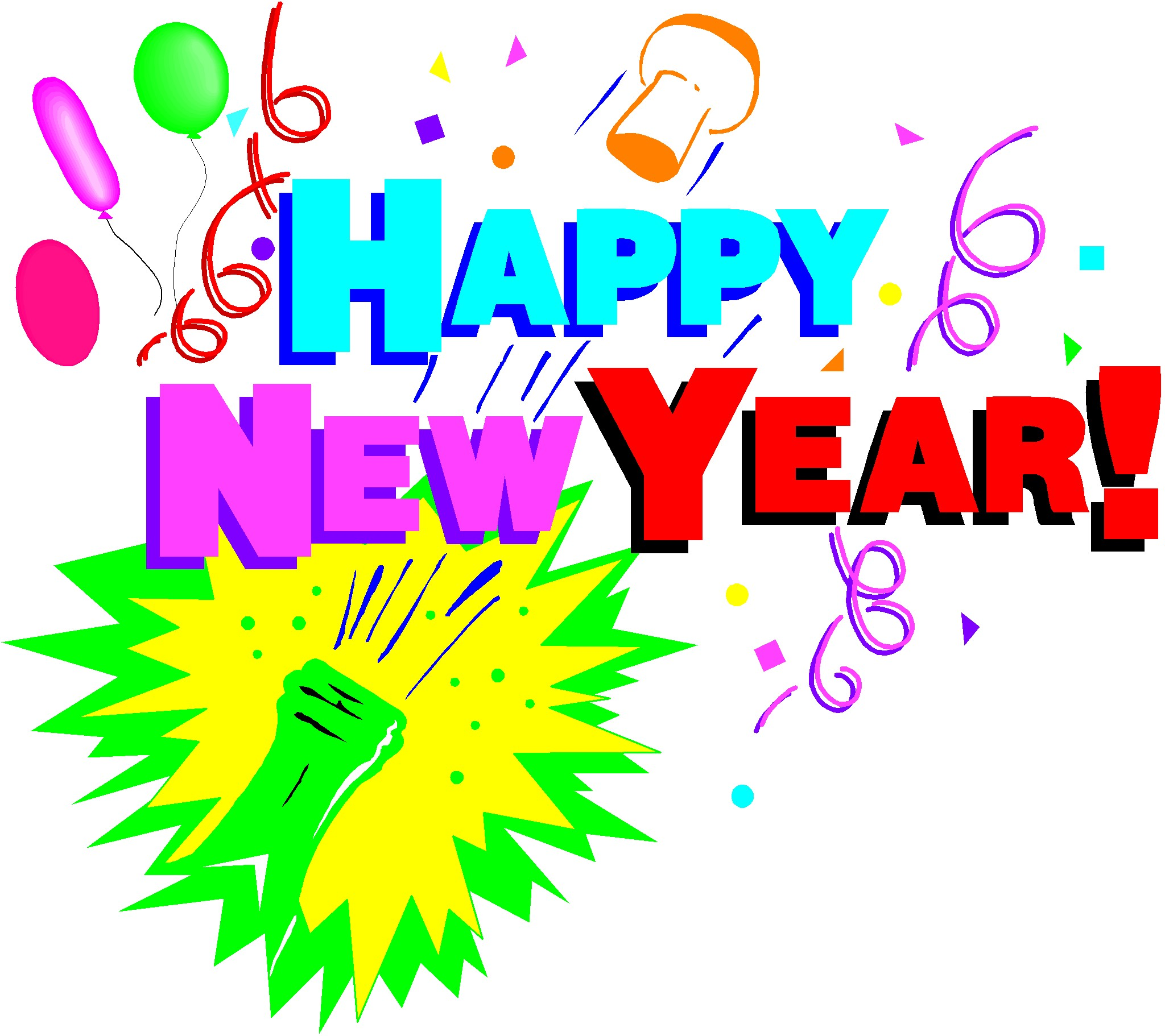 New Years Eve Party Clip Art - ClipArt Best