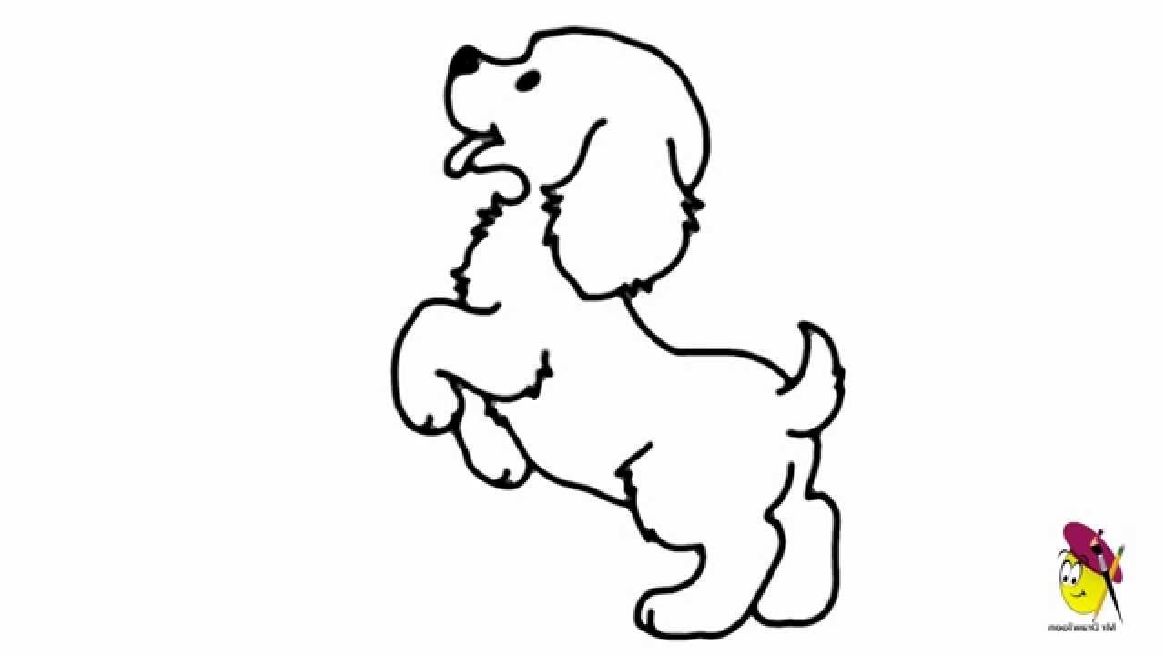 Dog Drawing Easy - ClipArt Best