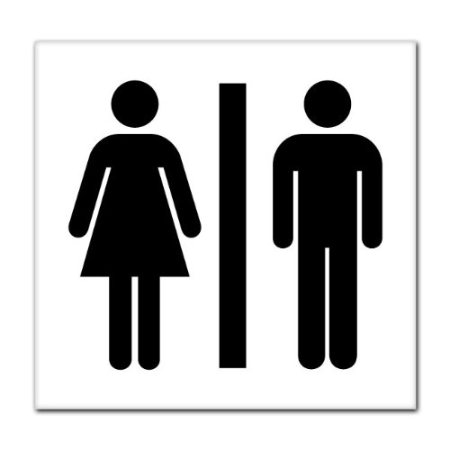 Man and women bathroom sign clipart best for Men and women bathroom symbols