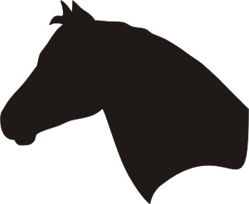 Free Clip Art Of Horse Head