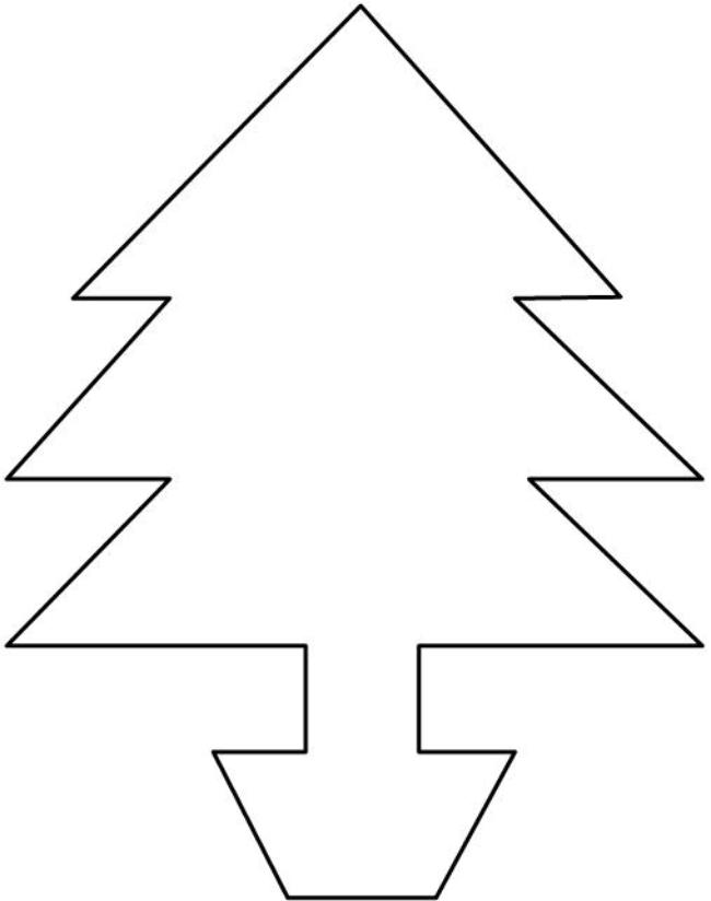 Christmas Tree Easy Drawing : Christmas tree drawing clipart best