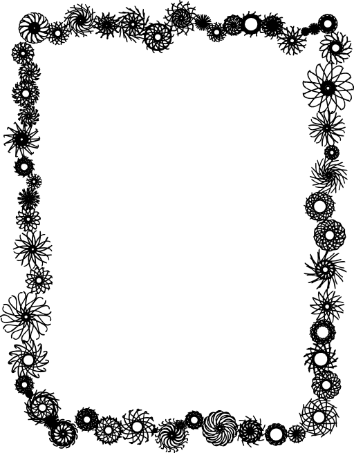 Flower Frame Clipart Royalty Free Public Domain Clipart