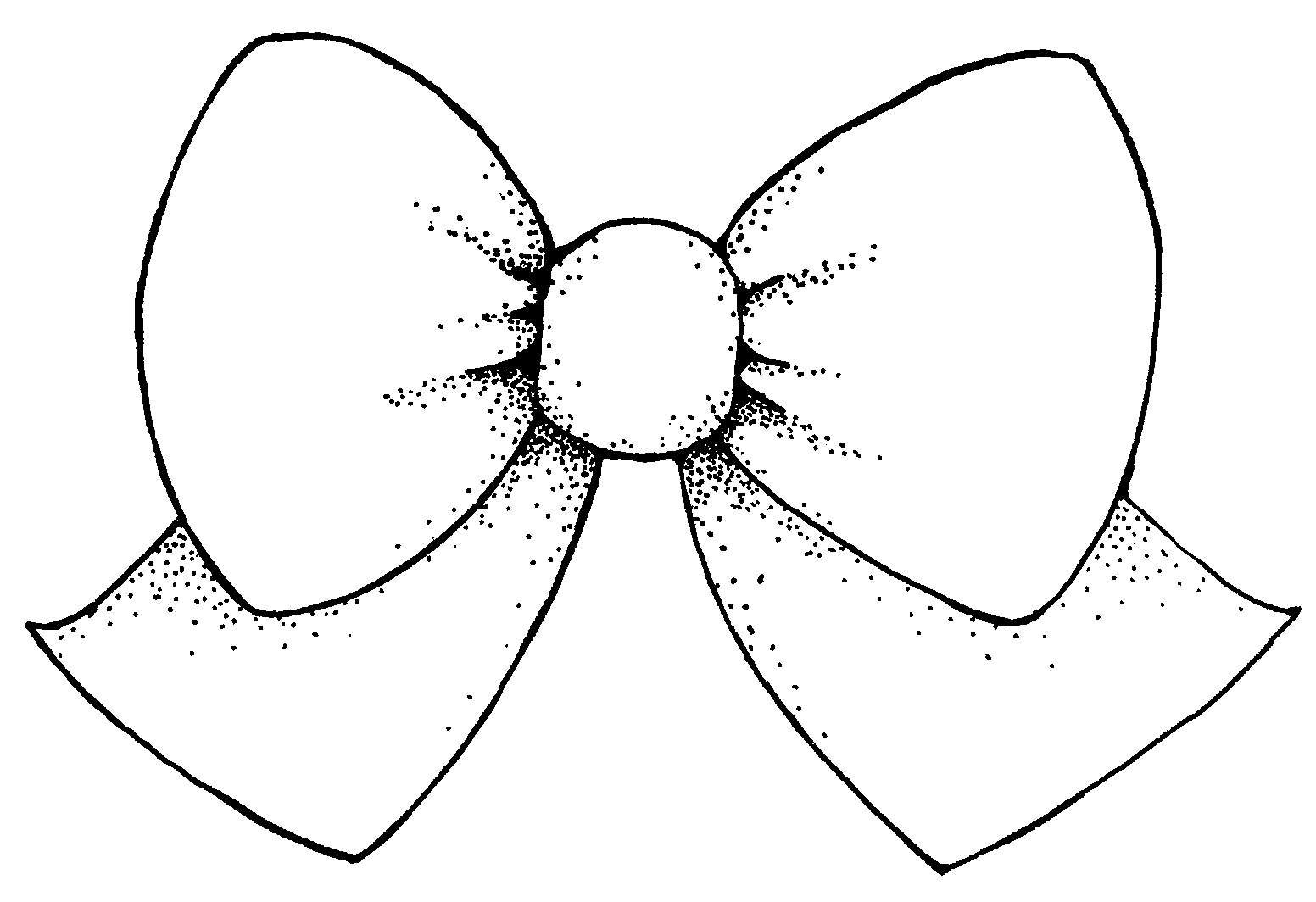 Vector Bow Clipart Best Bow Coloring Page