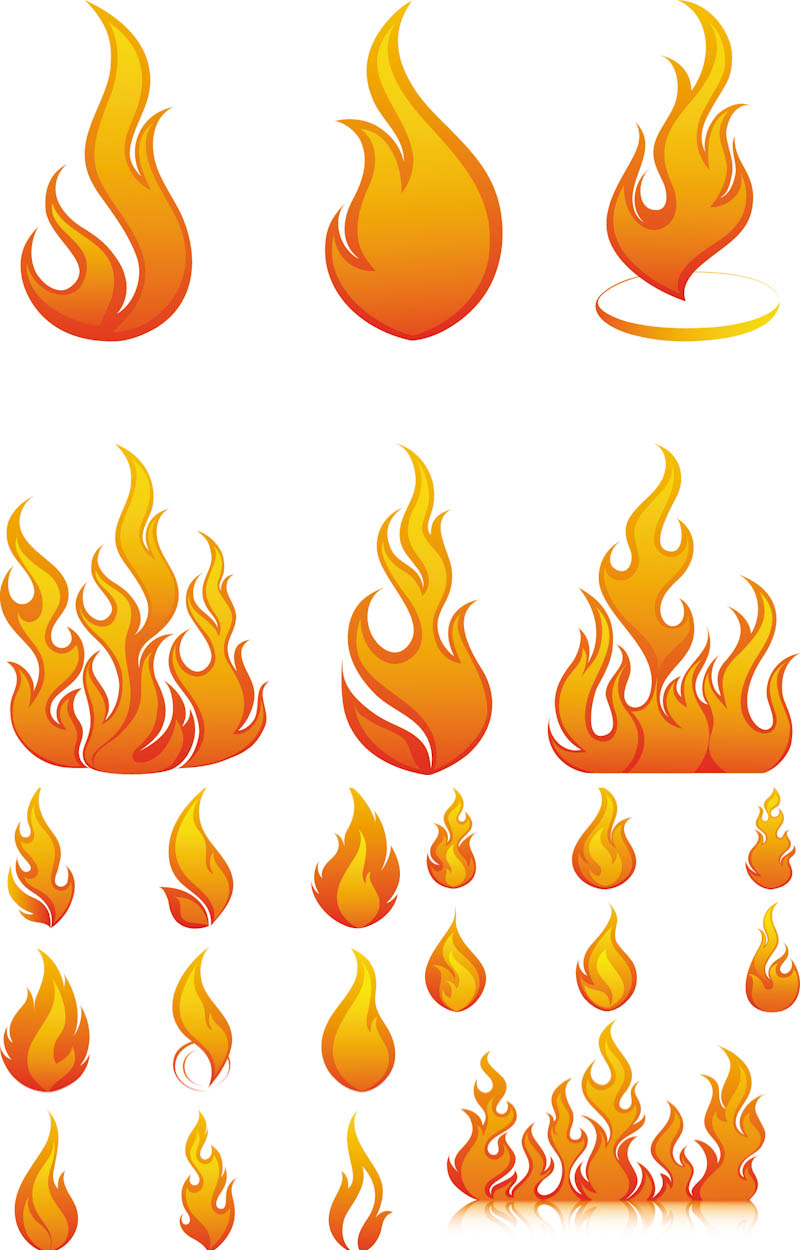 34 flame vector art . Free cliparts that you can download to you ...