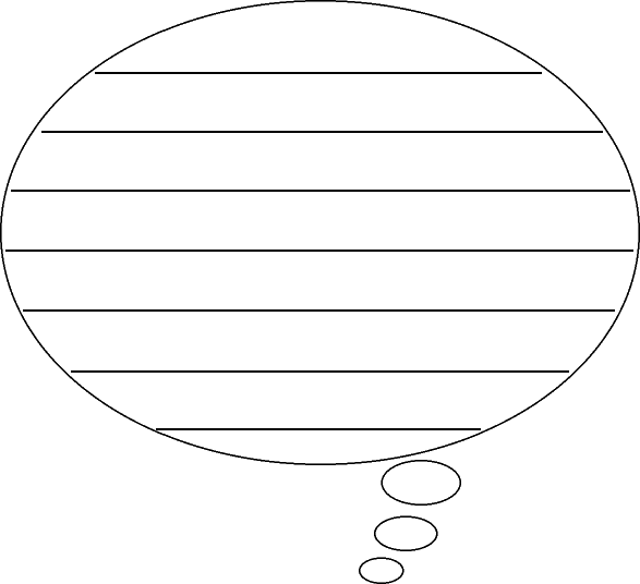 Speech Bubble Template With Lines - ClipArt Best