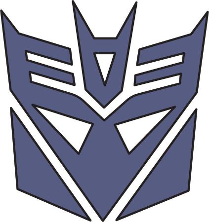 transformers decepticon logo vector clipart best