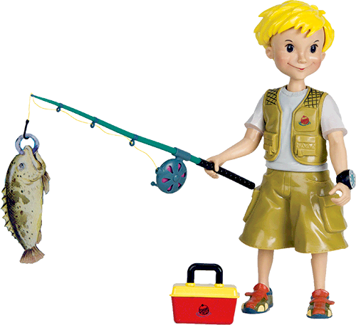 The gallery for fishing pole clipart free for Fishing poles for kids