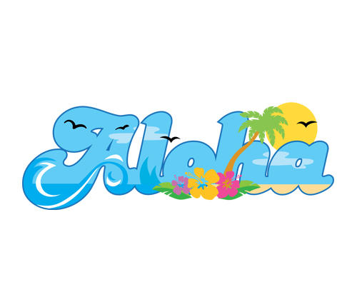 Aloha Hawaii Vector | Free Vector Art at Vecteezy! - ClipArt Best ...