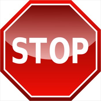 Image Of Stop Sign - ClipArt Best