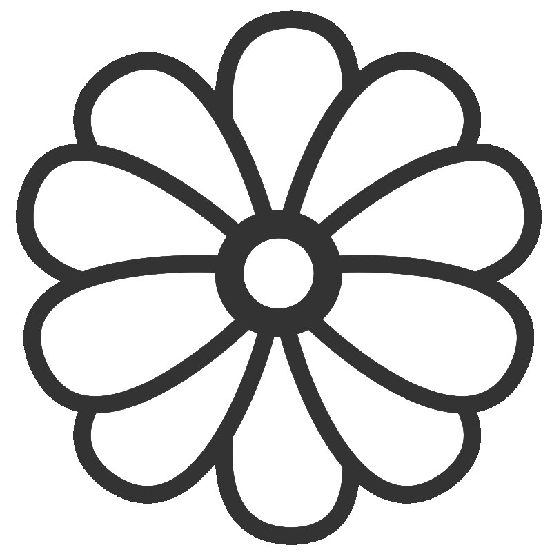 Flower Coloring Pages ClipArt Best