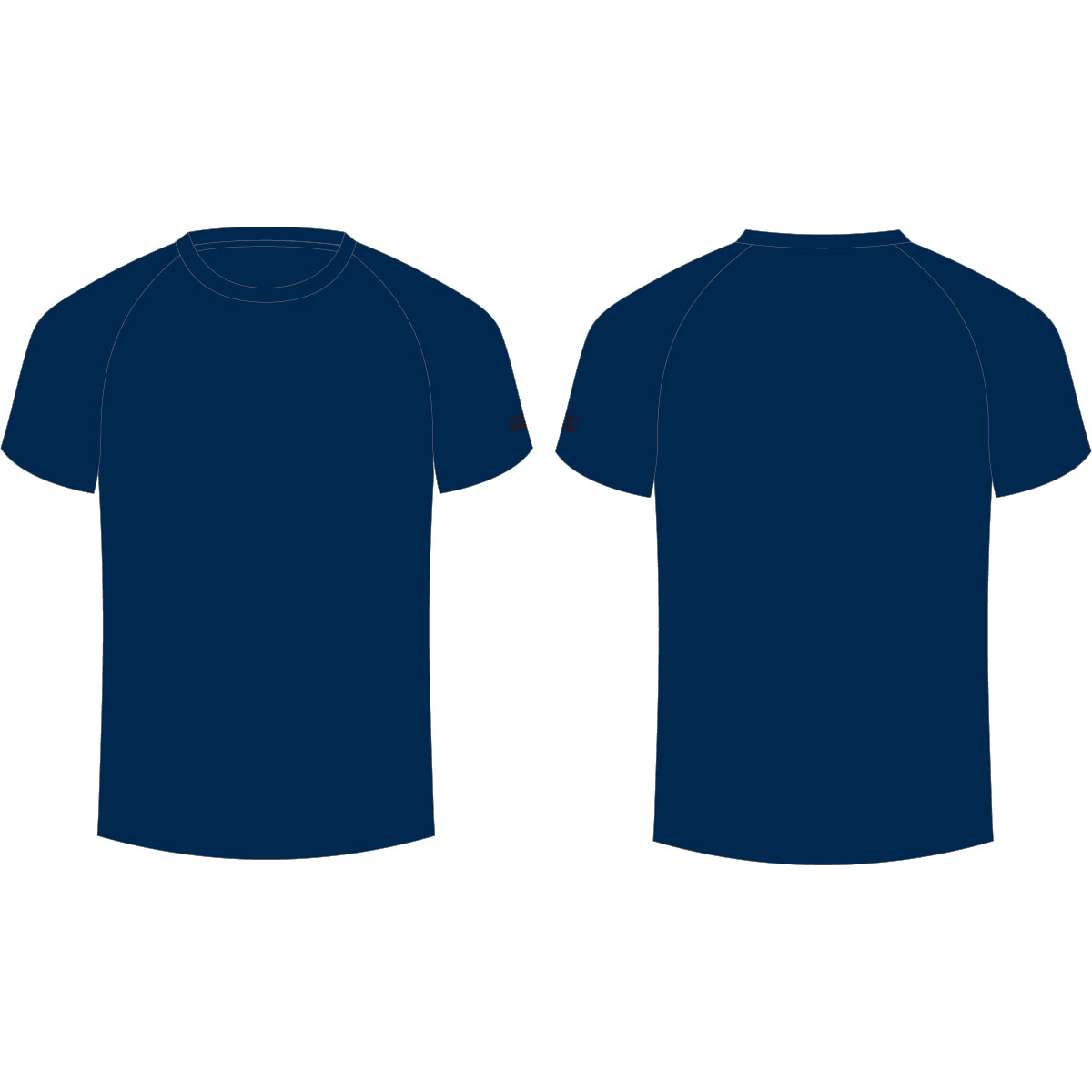blank navy blue t shirt template clipart best