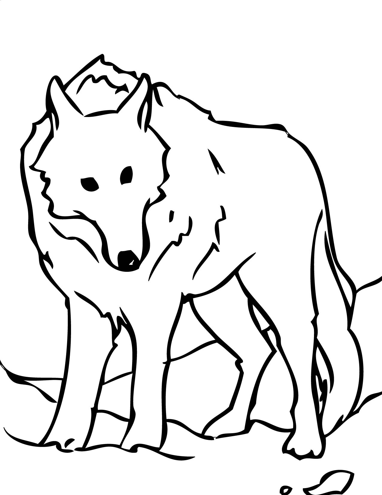 wolf face colouring pages . Free cliparts that you can download to ...
