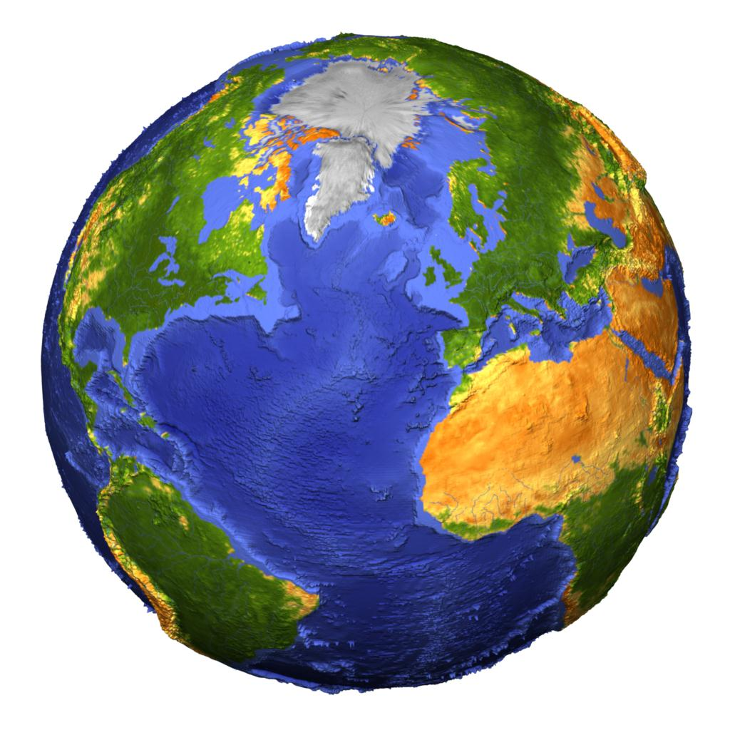 3d World Globe - ClipArt Best