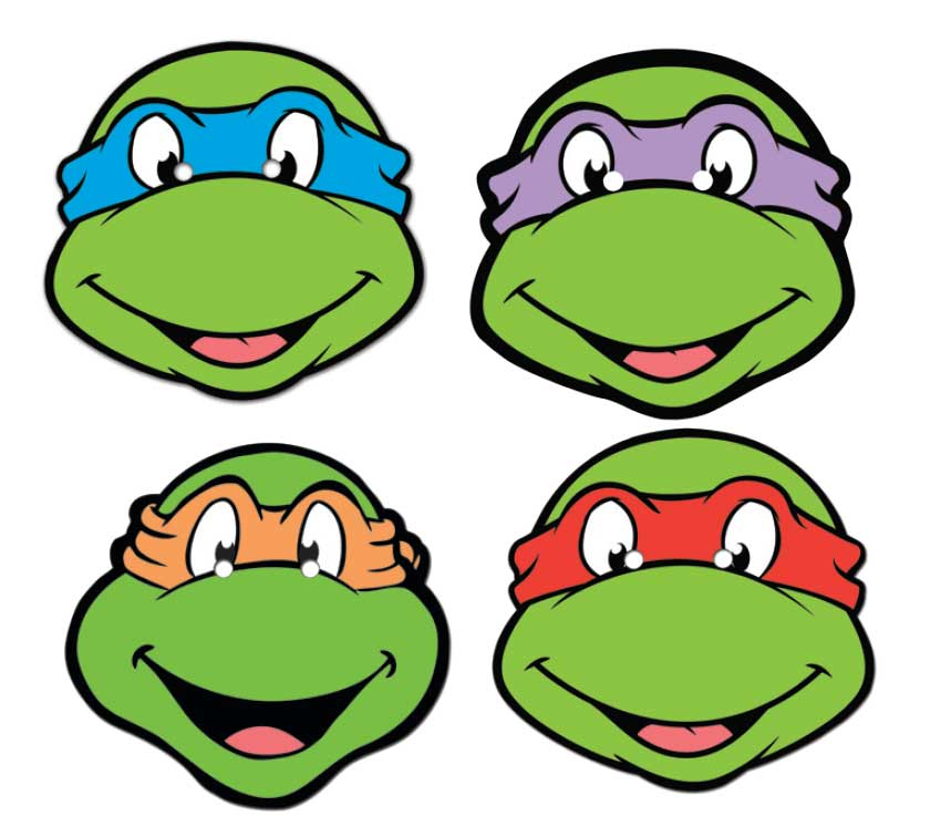 Ninja Turtle Mutant Ninja Turtles Face