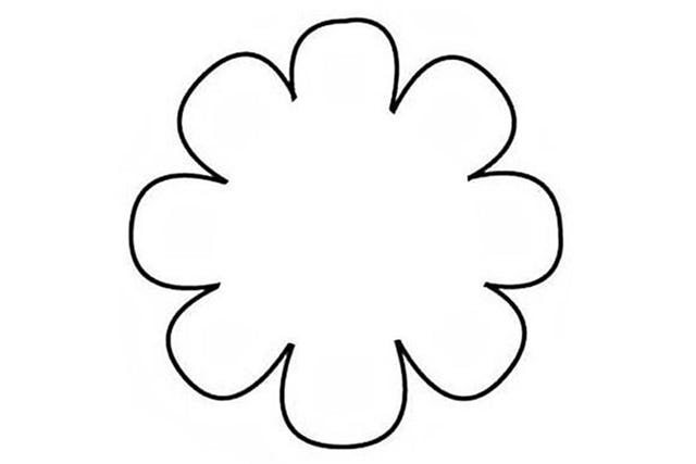 Traceable Flower Templates