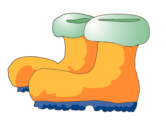 winter boots clipart free - photo #7
