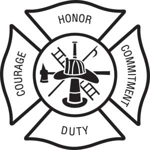 Fire department maltese cross clip art - ClipartFox