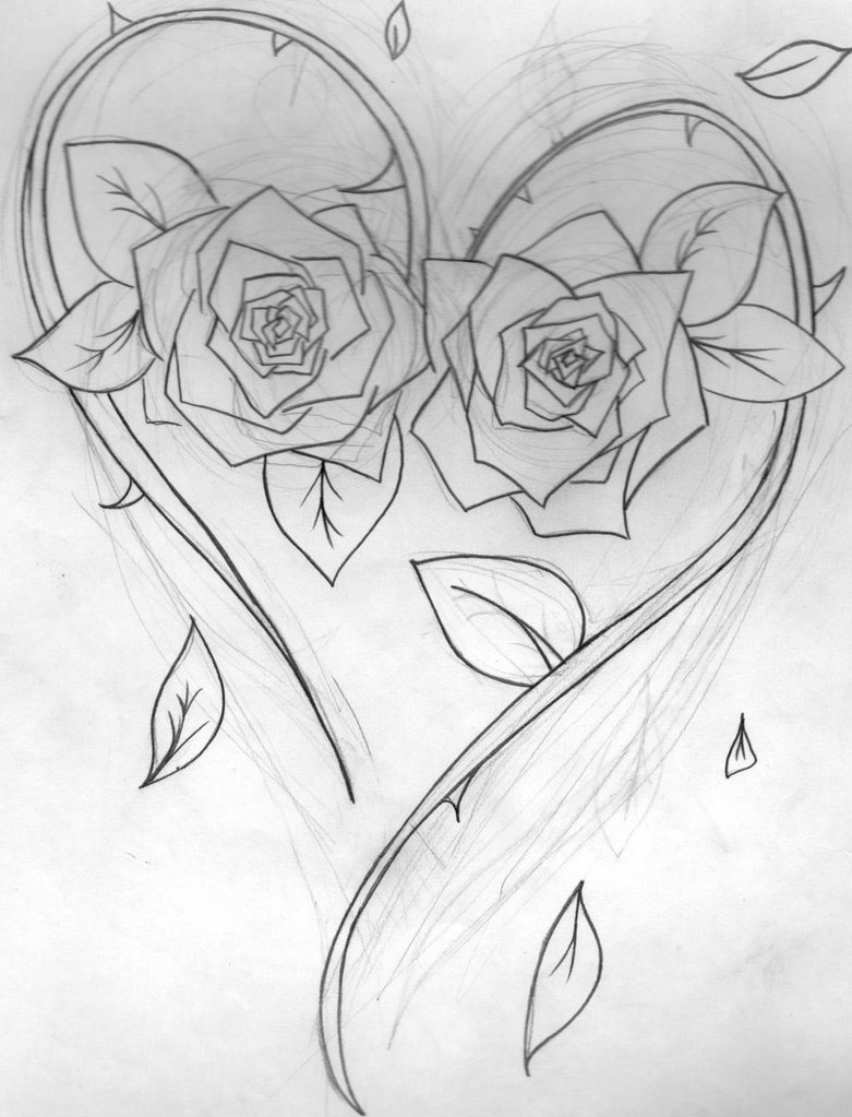 Cool Drawings Of Love WeSharePics