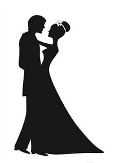 Wedding Couple Silhouette ClipArt Best
