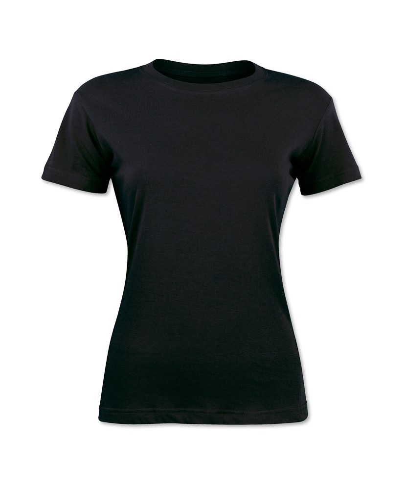 Womens black t shirt clipart best Womens black tee shirt