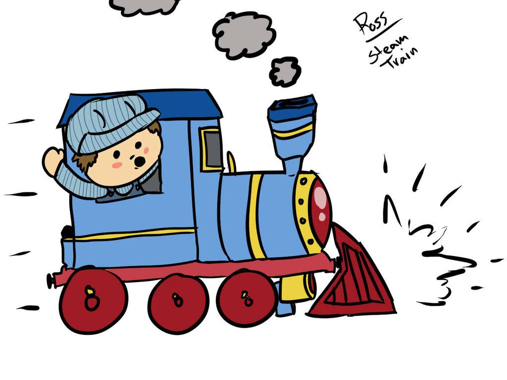 Cartoon Steam Train - ClipArt Best