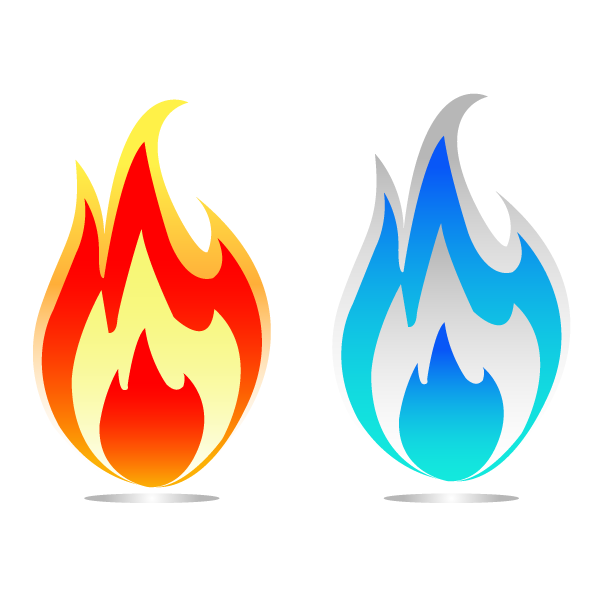 Flame Vector Art - ClipArt Best