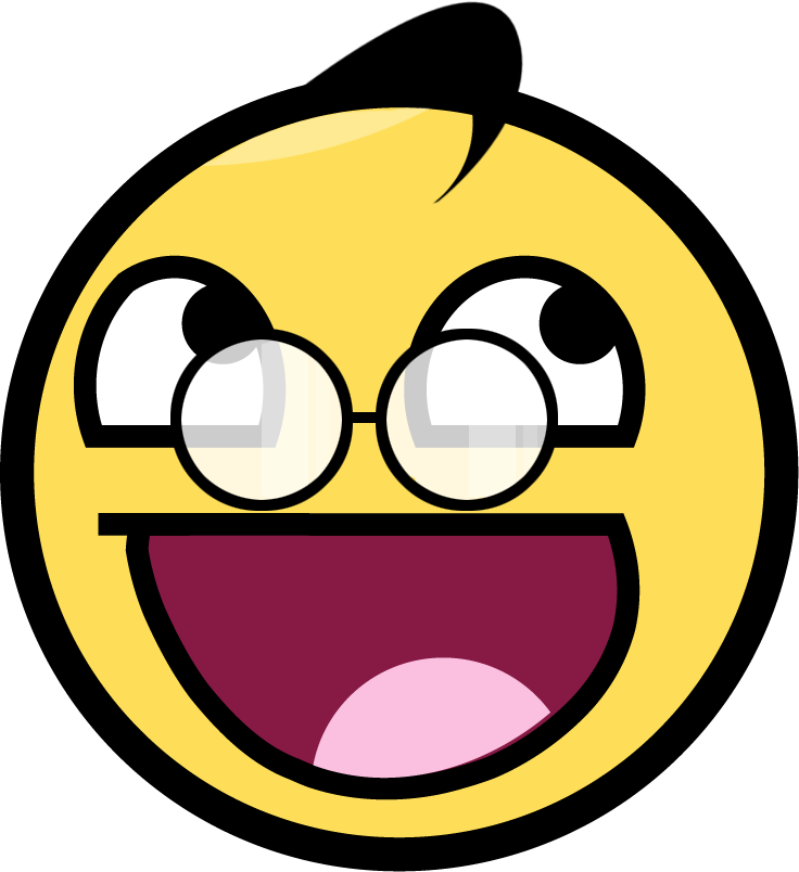 Awesome Face Smiley - ClipArt Best