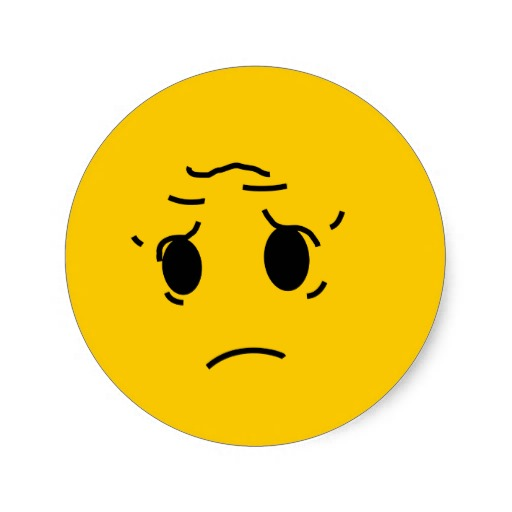 Upset Smiley Face Clipart Best