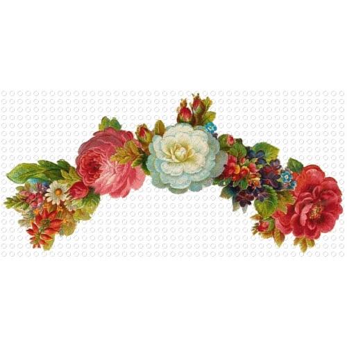 ... Floral Garland Victorian GIF Clip Art - ClipArt Best - ClipArt Best