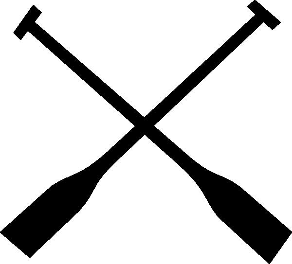 Crossed Oars Clip Art