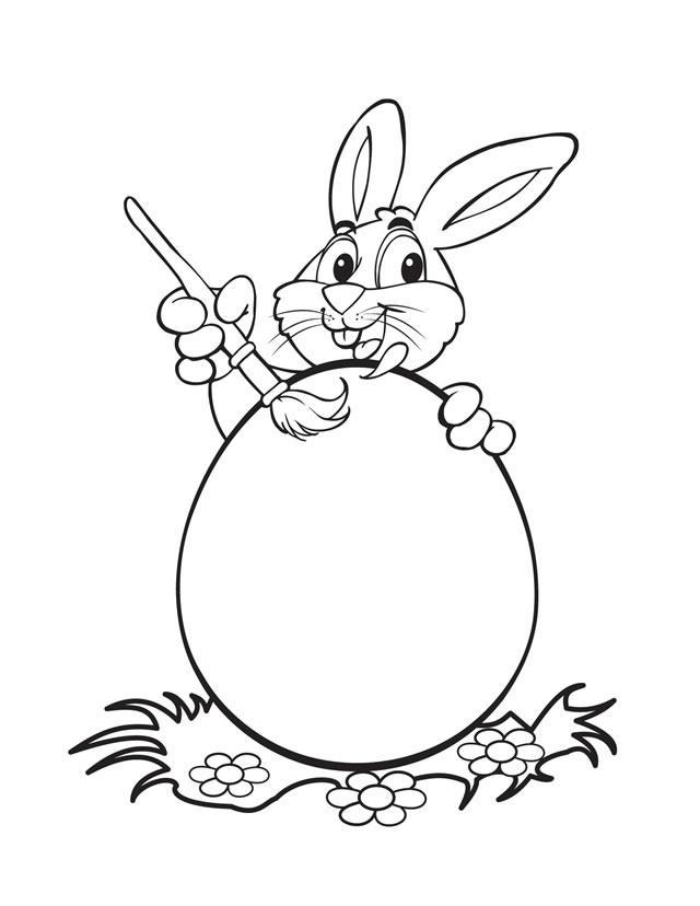 Printable Easter Bunny