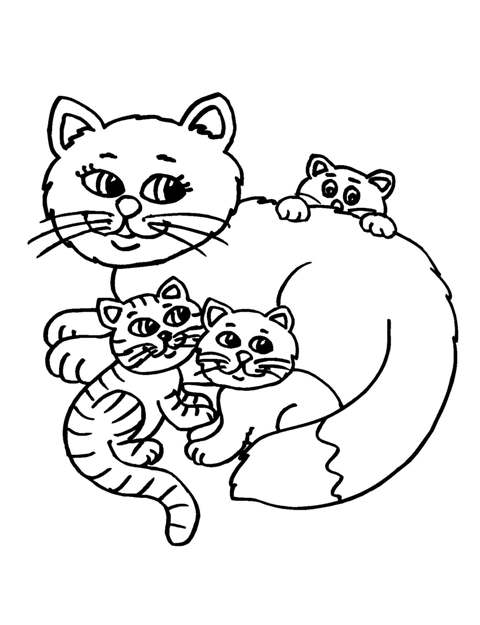 coloring to print animals cat number 34492 clipart best clipart best. Black Bedroom Furniture Sets. Home Design Ideas